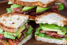 EATS: Sandwiches/ Casadillas/ Pizza/ Wraps / by Peggy Sue DIY