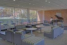 McDaniel College / Westminster, Maryland. PRODUCTS: Allsteel, HON, Sauder, Bernhardt Design.