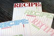 Recipe cards / by Monica Nault
