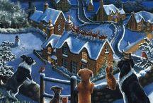 pinturas Navidad