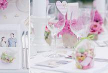 Hochzeit in Pink, Grün und Weiss