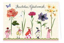 Geburtstagskarten / Liebevoll gestaltete Geburtstagskarten aus dem Grätz Verlag. Als Klappkarte mit Umschlag oder Postkarte.