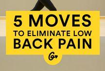 Rygg / Smerter, skade i rygg