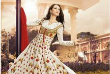 PAKISTANI LONG SUITS / Buy latest Pakistani long salwar suits at IndianSanskriti.com