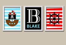 baby boys pirate theme nursery