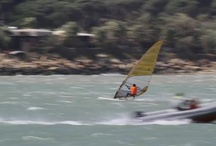 Windsurfing &Sailing / I love water sports, and these two in particular because we have practiced as a family.