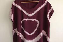 Bizim Boyama Deneyimlerimiz /  Dylon Giysi /Kumaş boyama