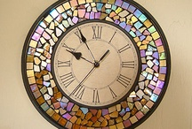 Relojes con mosaico