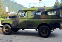 "My Land Rover Series 3 / My project is a 1974 Land Rover series 3 Ex military. It's named ""Doffen""."