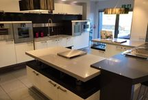 Ex Display Poggenpohl White Lacquered Gloss Designer Kitchen