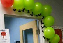 balóny výzdoba