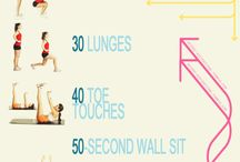 Leg Workouts / by Abbie Moore