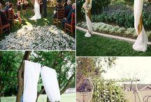 Pernikahan halaman belakang