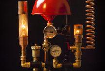 Steampunk DIY Industrial Pipe Lamp #6