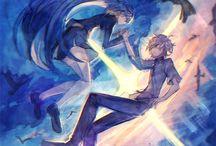 Sonozaki and Agata