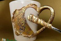 глина чашка