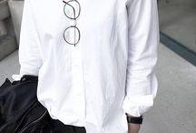 Black, white, grey - clothes