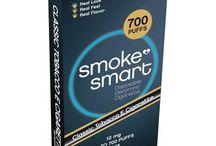 E-sigarett   700 trekk / Disse e-sigarettene har en høy kapasitet med opptil 700 trekk. Finnes både i menthol og klassisk smak, og en kan velge pakker med 4, 10, 18 eller 35 e-sigaretter.
