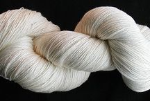Bamboo Blends Undyed Yarns / CATNIP YARNS • First quality undyed cotton & cotton blend yarns - ready to be dyed or used in the natural color