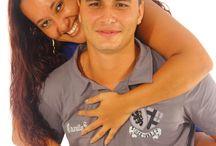 """Juciara e Diego / """"Não existem casais perfeitos, existem casais que escolheram viver um dia de cada vez, curtir a felicidade, a cumplicidade e fazer do relacionamento o melhor que existe entre homem e mulher."""""""
