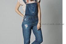 jardineras jeans