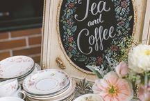 Стол вход чай кофе