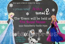 Frozen Birthday Party / by Stephanie Perdue