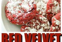 Red Velvet Cake & Cookies