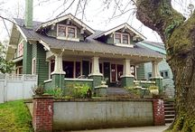 Hey, Bungalow Bill / The title's from a Beatles song. Look it up. The craftsman, or arts & crafts style, rose out of a desire for a more streamlined and simple style than Victorian, and was extremely popular in the United States in the early 20th century. The most prominent architects of the style were Greene and Greene.