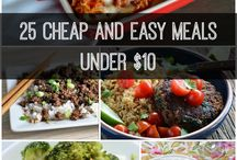 Meal Planning / Meal plans and grocery budgets / by Nancy Merfeld