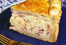 Food - Quiche & Savory Tarts