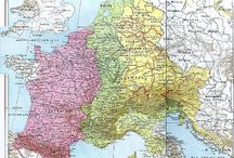 Carolingian Empire - 800–888 / The Carolingian Empire (800–888) was the final stage in the history of the early medieval realm of the Franks, ruled by the Carolingian dynasty. The size of the empire at its zenith around 800 AD was 1,112,000 km², with a population of between 10 and 20 million people.