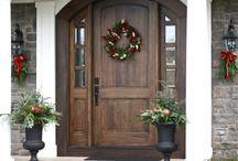 Harvey Flood Front Door