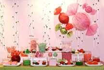 Party Theme: Candy / Candy!  a colorful and easy theme for Bat Mitzvahs, birthday parties or Sweet 16's