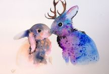 Animals / Art / Painting / Artworks / Paintings with animals for inspiration by different artists