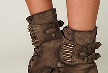 Leather Boots...
