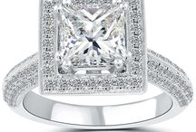PAVE-HALO ENGAGEMENT RINGS / by Liori Diamonds