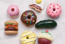 DIY Clay Foods / Food crafts that look good enough to eat- collaborative pinning project