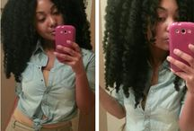Natural Hair Sew In