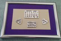 Hand stamped keepsakes