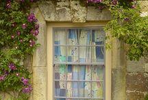 windows, doors & old buildings