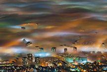 Fog over Sofia, Bulgaria #HeathrowGatwickCars.com
