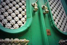 My Love of Doors and Door knockers / I can't help it.  I am door obsessed!