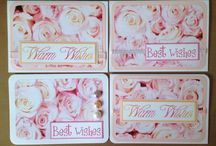 Greeting card sets / Sets of cards for different occasions