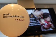 World Haemophilia Day / Since 1989, patient groups worldwide have annually celebrated World Haemophilia Day (WHD) on 17 April to raise awareness and understanding of haemophilia and other bleeding disorders.   On WHD, Novo Nordisk together with patient groups around the world organise awareness-raising campaigns, media events and a variety of activities to educate people with haemophilia and the general public about bleeding disorders and emphasise the importance of proper care.