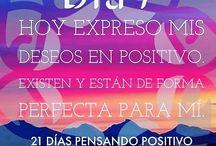 en positivo