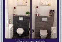Toilet / Inspiratie ideeën en wat wij leveren en maken