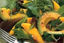 Vegan Salads / Low-fat, oil-free.