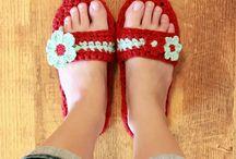 Handknit Socks & Slippers