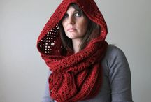 scarves, hoods / by Rose Gold Autumn